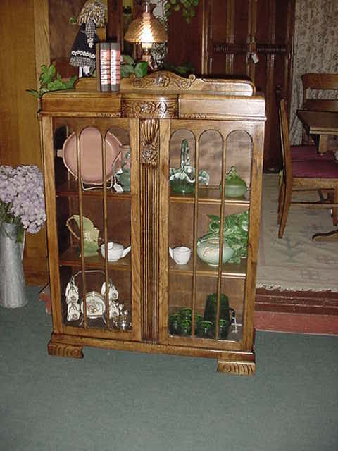 South Bay Antiques Display Cabinets